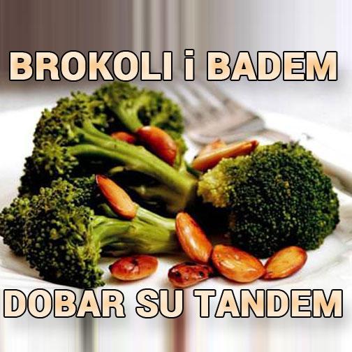 brokoli badem