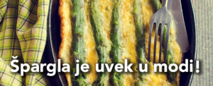 Herbafast recept - spargla sa stilom